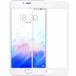 Стекло Meizu M3 mini/3S white frame