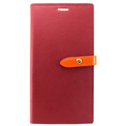 Чехол-книжка Xiaomi Redmi Note4 bordo Goospery