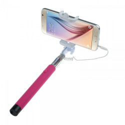 Monopod cable 3.5mm pink