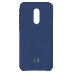 Силикон Xiaomi Redmi5 Plus blue Soft Touch