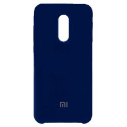 Силикон Xiaomi Redmi5 Plus dark blue Soft Touch
