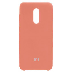 Силикон Xiaomi Redmi5 Plus peach Soft Touch