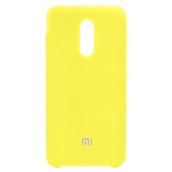 Силикон Xiaomi Redmi5 Plus yellow Soft Touch