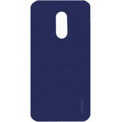 Силикон Xiaomi Redmi5 Plus dark blue Inavi