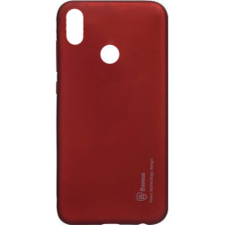 Силикон Xiaomi Redmi S2 red Baseus