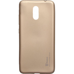 Силикон Xiaomi Redmi5 Plus gold Baseus