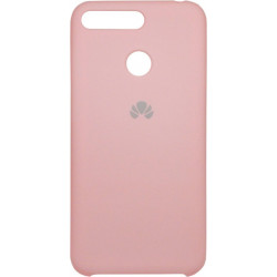 Накладка Huawei Y6 Prime (2018)/Honor7A Pro pink Soft Case