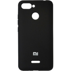 Накладка Xiaomi Redmi6 black Soft Case