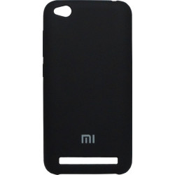 Накладка Xiaomi Redmi5A black Soft Case
