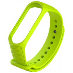 Ремешок Xiaomi Mi Band 3 rhombus green