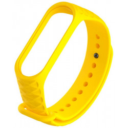 Ремешок Xiaomi Mi Band 3 rhombus yellow