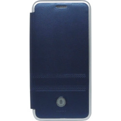 Чехол-книжка Xiaomi Redmi6 dark blue Metall iMAX