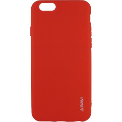Силикон iPhone 6 red Inavi