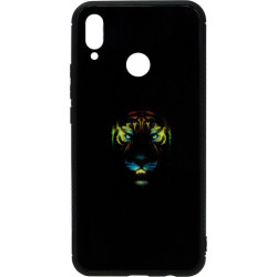Накладка Huawei P Smart Plus black Tiger Luminous