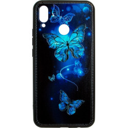 Накладка Huawei P Smart Plus Butterflies blue Night case