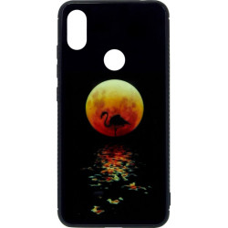Накладка Xiaomi Redmi Note6 Pro black Moon Luminous