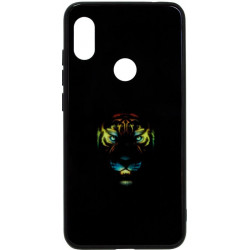 Накладка Xiaomi Redmi Note6 Pro black Tiger Luminous
