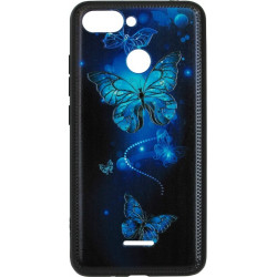 Накладка Xiaomi Redmi6 Butterflies blue Night case
