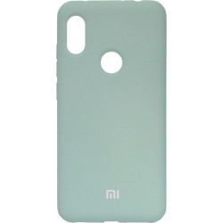 Накладка Xiaomi Redmi Note6 Pro mint Soft Case
