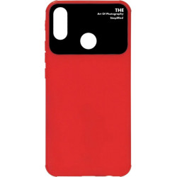 Силикон Huawei P Smart Plus red Acrylic TPU