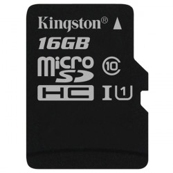 Карта памяти Micro SD 16GB/10 class Kingston