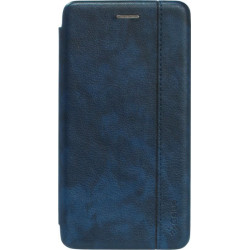 Чехол-книжка Xiaomi Redmi Go blue Leather Gelius