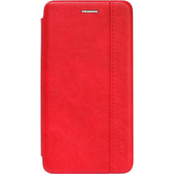 Чехол-книжка Xiaomi Redmi Go red Leather Gelius