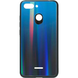 Накладка Xiaomi Redmi6 deep blue Chameleon Glass