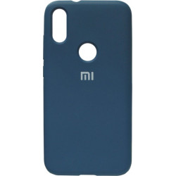 Накладка Xiaomi Mi Play blue Soft Case