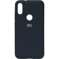 Накладка Xiaomi Mi Play dark blue Soft Case