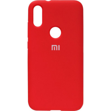 Накладка Xiaomi Mi Play red Soft Case