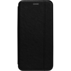 Чехол-книжка Xiaomi Redmi7 black Leather Gelius