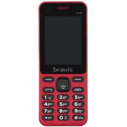 Bravis C246 Fruit Dual Sim Red UA-UСRF Оф. гарантия 12 мес!