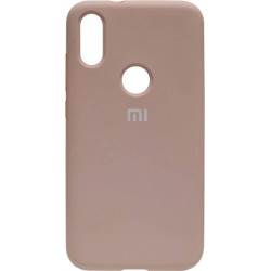 Накладка Xiaomi Mi Play pink sand Soft Case
