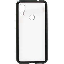 Накладка Xiaomi Redmi7 black bamper Metall Magnetic Case
