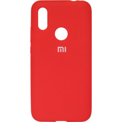 Накладка Xiaomi Redmi7 red Soft Case