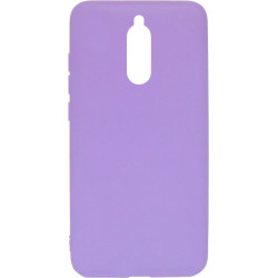Силикон Xiaomi Redmi 8 light violet Silicone Case