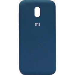 Накладка Xiaomi Redmi 8A dark blue Soft Case