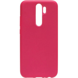 Накладка Xiaomi Redmi Note 8 Pro hot pink Soft Case