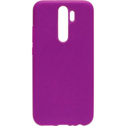 Накладка Xiaomi Redmi Note 8 Pro purple Soft Case