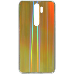 Накладка Xiaomi Redmi Note 8 Pro gold rainbow Chameleon Glass