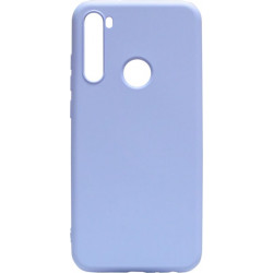 Силикон Xiaomi Redmi Note 8T light violet Silicone Case