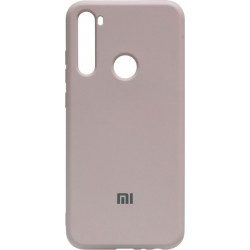 Силикон Xiaomi Redmi Note 8T peach Silicone Case