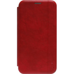 Чехол-книжка Xiaomi Redmi 8A red Leather Gelius