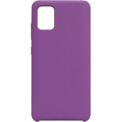 Накладка SA A51 purple Soft Case