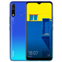 Смартфон Tecno Spark 4 KC2 3/32GB Vacation Blue UA-UCRF Оф. гарантия 12 мес.