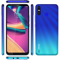 Смартфон TECNO Spark 4 Lite (BB4k) 2/32Gb Vacation Blue UA-UCRF Оф. гарантия 12 мес.
