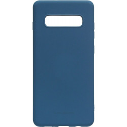 Силикон SA G975 S10 Plus dark blue Silicone Case Molan