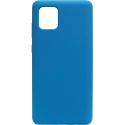 Накладка SA N770 Note10 Lite blue Soft Case