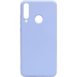 Силикон Huawei Y6P light violet Silicone Case